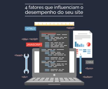 4 fatores que influenciam o desempenho do site
