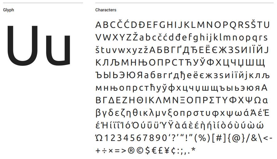Ubuntu Google Font