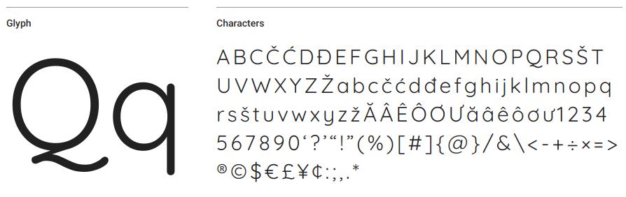 Quicksand Google Font