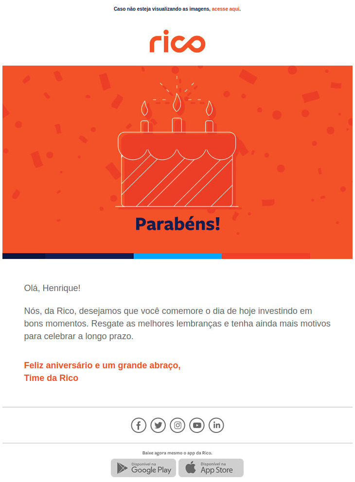 Aniversario de Rico Email Marketing
