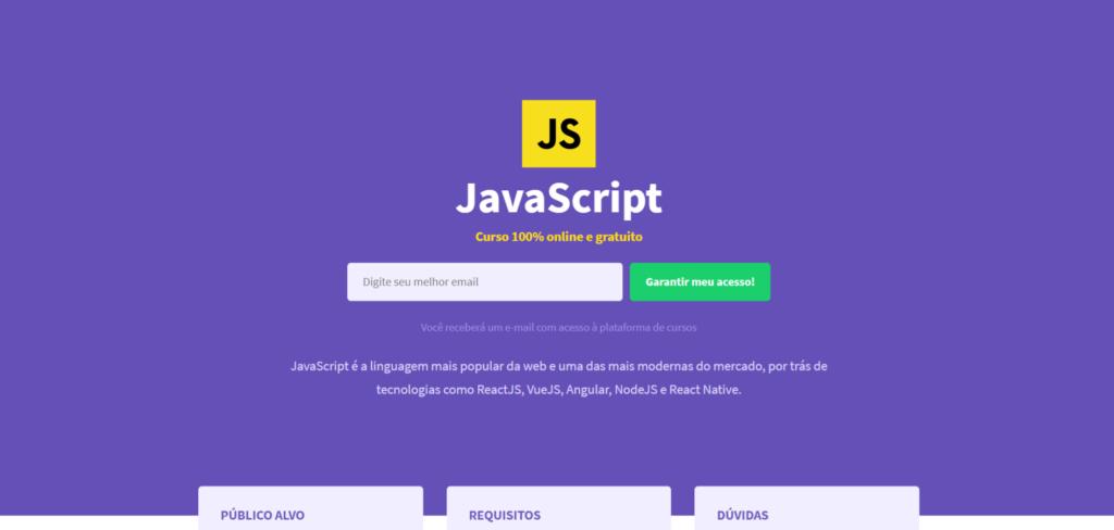Rocketseat - Curso Gratuito de Javascript