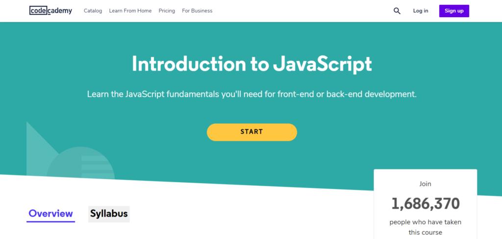 Codeacademy - Introdução ao Javascript
