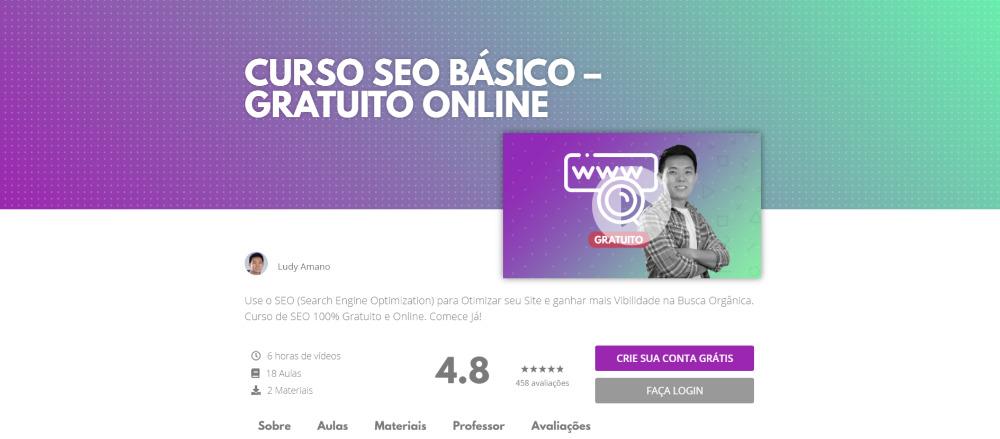 CURSO SEO BÁSICO – GRATUITO ONLINE