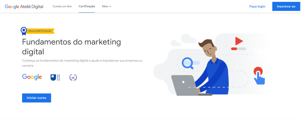 Fundamentos del marketing digital por Google