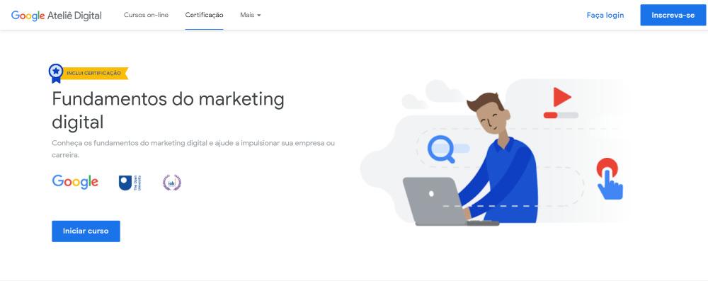 Fundamentos do marketing digital por Google