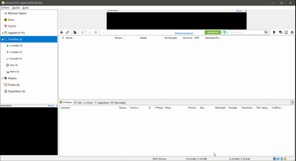 Cliente uTorrent