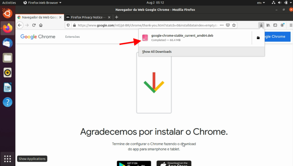 Chrome Paso 4
