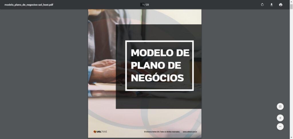 UOL - Modelo Plano de Negócios (PDF)