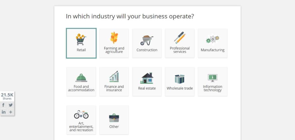 LawDepot - Construtor de Plano de Negócios