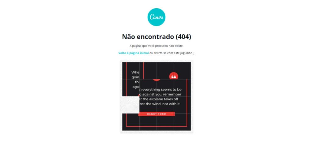 Canva 404