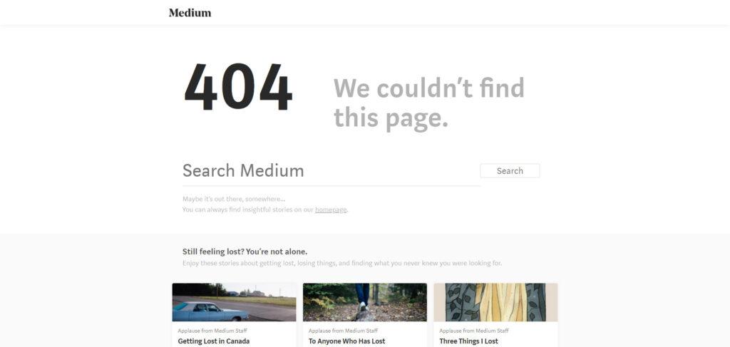 Medio 404